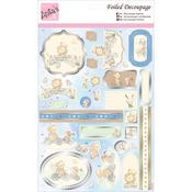 Bear Buddies - Anita's A4 Foiled Decoupage Sheet