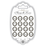 Small Circle - Craft Consortium Buckle Embellishment 16/Pkg