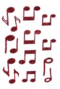 Music Notes Stick Ems - Queen & Co