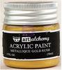 Metallique Gold Rush Acrylic Paint - Art Alchemy - Finnabair