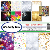 It's Party Time Page Kit - Reminsce