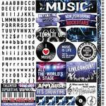 Musicality Sticker Sheet - Reminisce