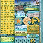 The Shipwreck Club Alpha Sticker Sheet - Reminisce