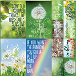 Signs Of Spring Poster Stickers - Reminisce