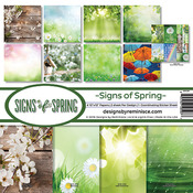 Signs Of Spring Page Kit - Reminisce
