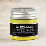 Pure Sunshine Metallique Acrylic Paint - Art Alchemy - Finnabair