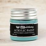 Light Patina Metallique Acrylic Paint - Art Alchemy - Finnabair