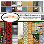 Worlds Of Adventure Page Kit - Reminisce
