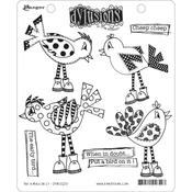"""Put A Bird On It Dylusions Cling Stamp Collections 8.5""""X7"""""""