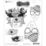 "The Eyes Have It Dylusions Cling Stamp Collections 8.5""X7"""