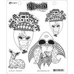"""Oh Deer! Dylusions Cling Stamp Collections 8.5""""X7"""""""