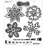 "Doodle Blooms Dylusions Cling Stamp Collections 8.5""X7"""
