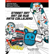 Street Art - Trends Coloring Book