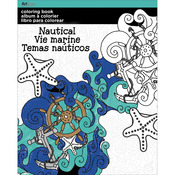 Nautical - Trends Coloring Book