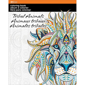 Tribal Animals - Trends Coloring Book