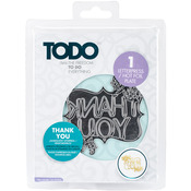 Thank You - Todo Foil Die