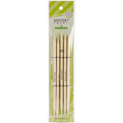 """Size 10.5/6.5mm - Bamboo Double Pointed Needles 8"""""""