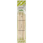 """Size 15/10mm - Bamboo Double Pointed Needles 8"""""""