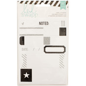 Labels/Black - Heidi Swapp Stickers