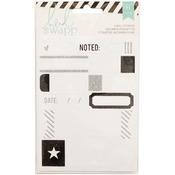 Labels/Black - Heidi Swapp Stickers