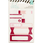 Labels/Pink - Heidi Swapp Stickers