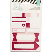 Labels/Pink - Heidi Swapp Stickers