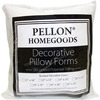 20 X20  FOB: MI - Decorative Pillow Form Pellon-Decorative Pillow Form. Perfect for when you want to make a unique and wonderful pillow! They are soft, yet supportive. Ideal for the home crafter or decorator. White with brushed microfiber. Filled with 100% Siliconized Polyester. This package contains one 20x20 inch pillow form. Made in USA.