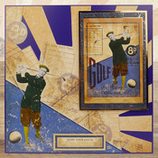 Sporting Moments - Gentleman's Journey A4 Topper Set