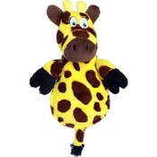 Giraffe - Hear Doggy Flattie With Chew Guard