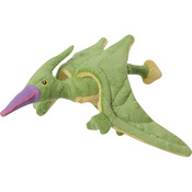 Green - GoDog Dinos Spike With Chew Guard Small