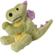 Lime - GoDog Dragons With Chew Guard Small