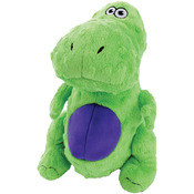 Lime T-Rex - GoDog Just For Me With Chew Guard Small