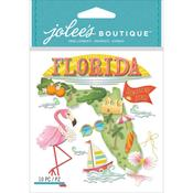 Florida Jolees Boutique Dimensional Stickers