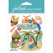 Caribbean Jolees Boutique Dimensional Stickers