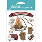 Campfire Jolees Boutique Dimensional Stickers