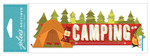 Camping Jolees Boutique Title Waves Dimensional Stickers