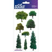 Trees Sticko Classic Stickers