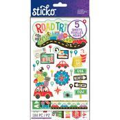 Road Trip Sticko Flip Pack