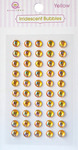 Yellow Iridescent Self-Adhesive Bubbles - Queen & Co