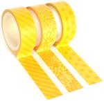 Yellow Trendy Tape Trio - Queen & Co