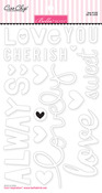 So In Love Chipboard Scripts - Bella Blvd