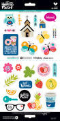 His Word 6 x 12 Sticker Sheet - Illustrated Faith