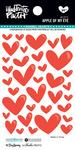Apple Of My Eye Enamel Heart Stickers - Illustrated Faith