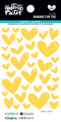 Bananas For You Enamel Heart Stickers - Illustrated Faith