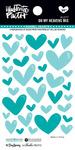Oh My Heavens Enamel Heart Stickers - Illustrated Faith