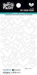 Hey Sugar Sugar Enamel Heart Stickers - Illustrated Faith