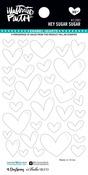 Hey Sugar Sugar Enamel Heart Stickers - Illustrated Faith