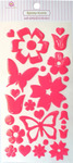 Butterfly Blooms Epoxy Icon Stickers - Queen & Co