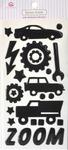 Boys Toys Epoxy Icon Stickers - Queen & Co