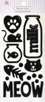 Meow Epoxy Icon Stickers - Queen & Co